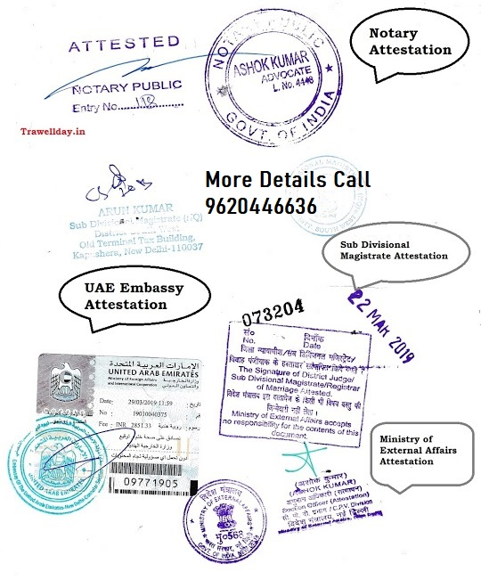 UAE Embassy Attestation in Bangalore,Chennai,Cochin,Mumbai,Delhi,Hyderabad,Vizag