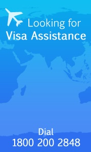Visa information for countries from Bangalore,chennai,Hyderabad,Cochin,Vizag,Delhi,Mumbai